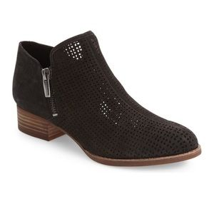 Vince Camuto Canilla Laser Cut Bootie